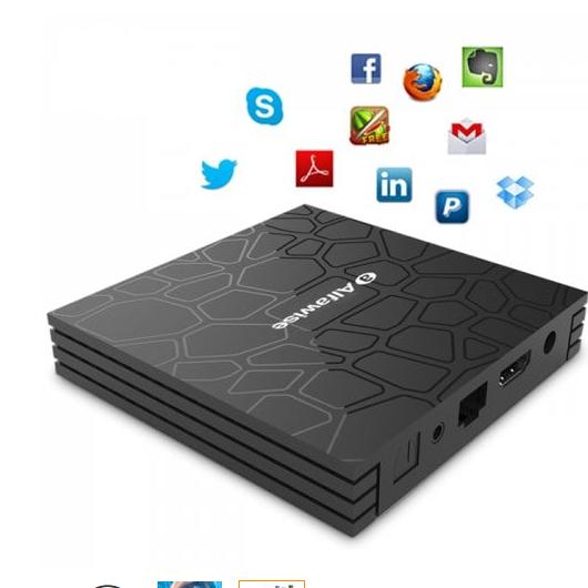 Alfawise T9 médialejátszó (TV BOX)