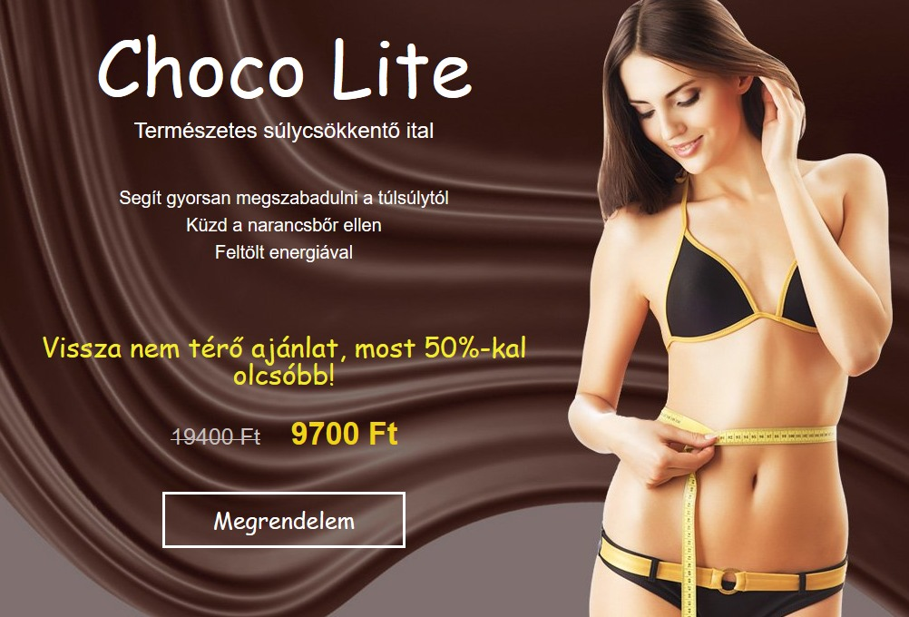 Choco lite negatív vélemények – Beauty blog
