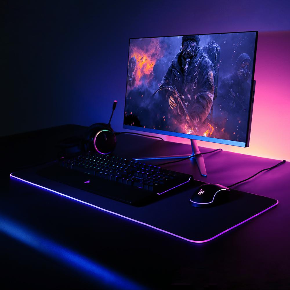 Tronsmart Spire RGB egéralátét (mouse pad) – Tesztarena.hu