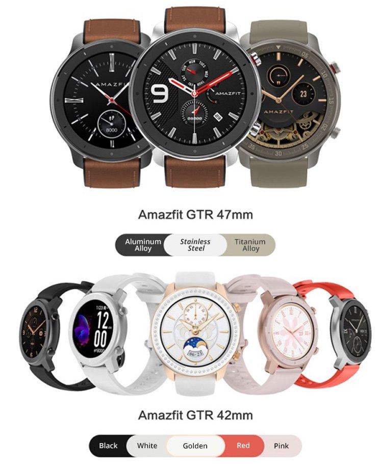Xiaomi Amazfit GTR Watch 42mm okosóra
