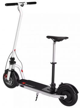 Elektromos roller üléssel, nagyobb sebességgel, alacsony árral