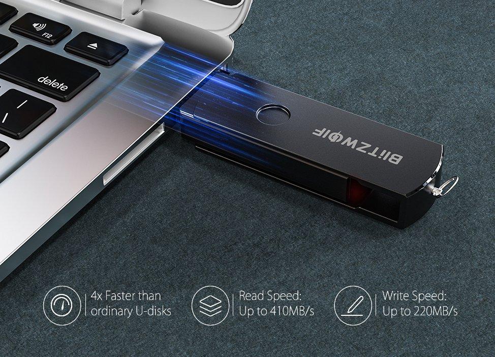 BlitzWolf BW-UP2 – extrém gyors, nagy kapacitású pendrive olcsón ...