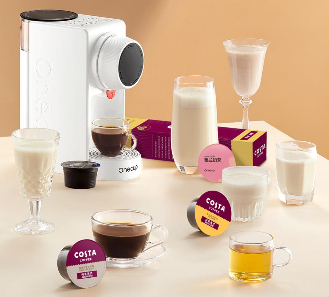 A Xiaomi OneCup kapszulás kávéfőző mindent főz – kávé, tea